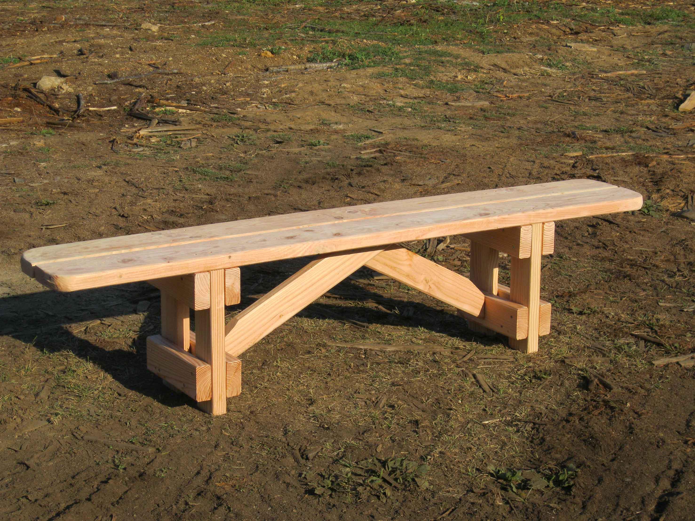 VIALA BOIS - Mobilier de jardin en bois - Bancs - Banc sans ...