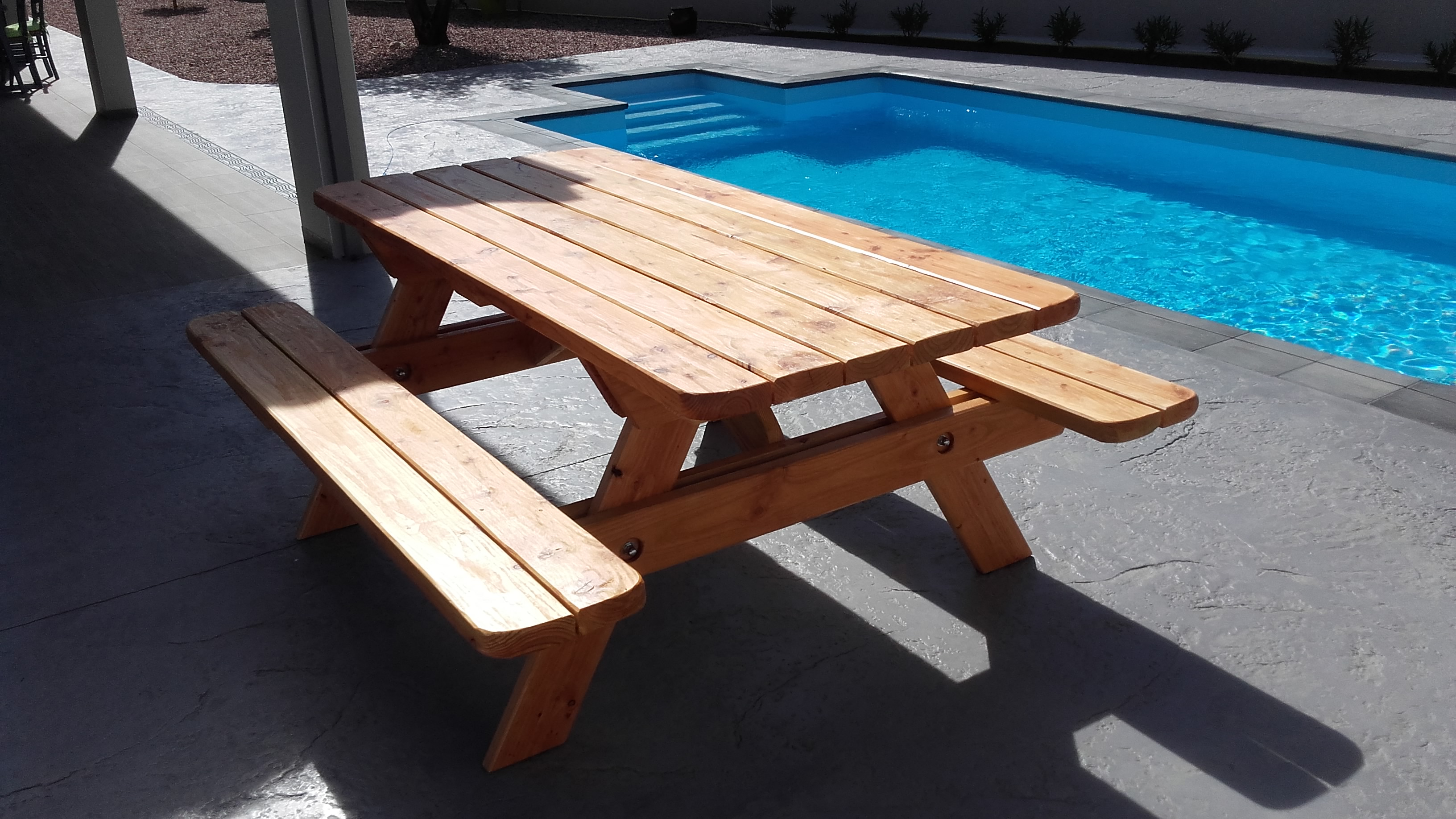 VIALA BOIS - Mobilier de jardin en bois - Table forestière ...